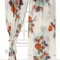 Ikat Rose Curtain , 8 Ultimate Ikat Curtains In Interior Design Category