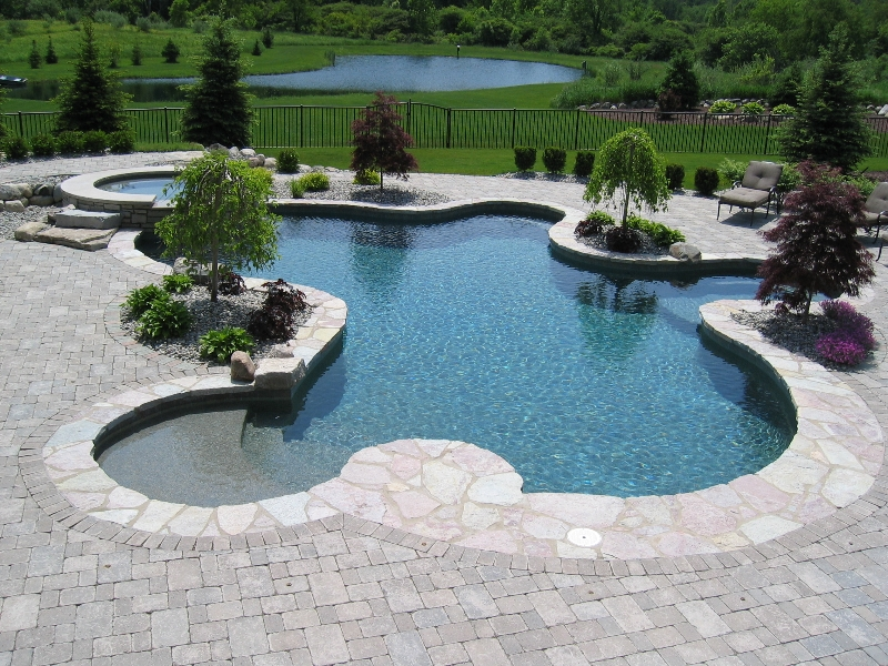 800x600px 7 Top Small Inground Pool Picture in Others
