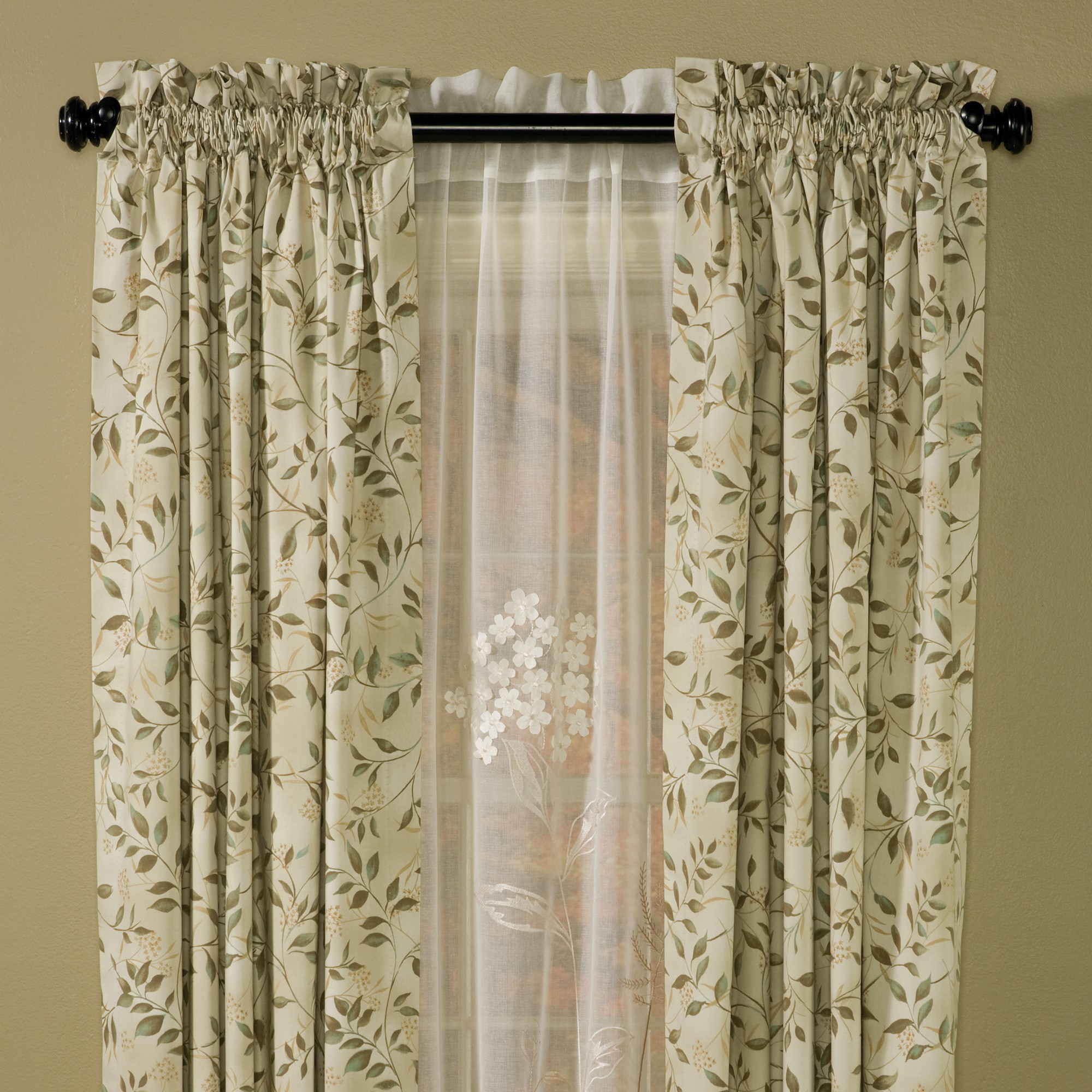Others 6 Superb Insulating Curtains Insulated Vine Curtain Panels