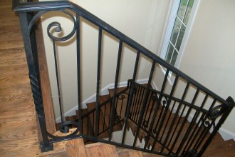 3472x2604px 8 Nice Wrought Iron Stair Railing Picture in Interior Design