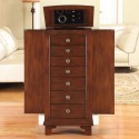 Jewelry Armoire , 7 Excellent Locking Jewelry Armoire In Furniture Category
