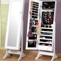 Jewelry Storage Cabinet , 7 Top Full Length Mirror Jewelry Cabinet In Furniture Category