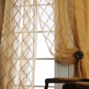 Jonquille Faux Embroidered Organza Sheer Curtains , 7 Best Embroidered Sheer Curtains In Others Category