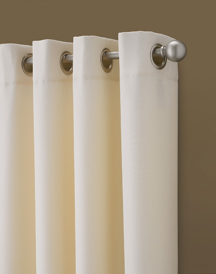Others , 8 Nice Grommets For Curtains : Kendall Color Block Grommet Curtain Panel