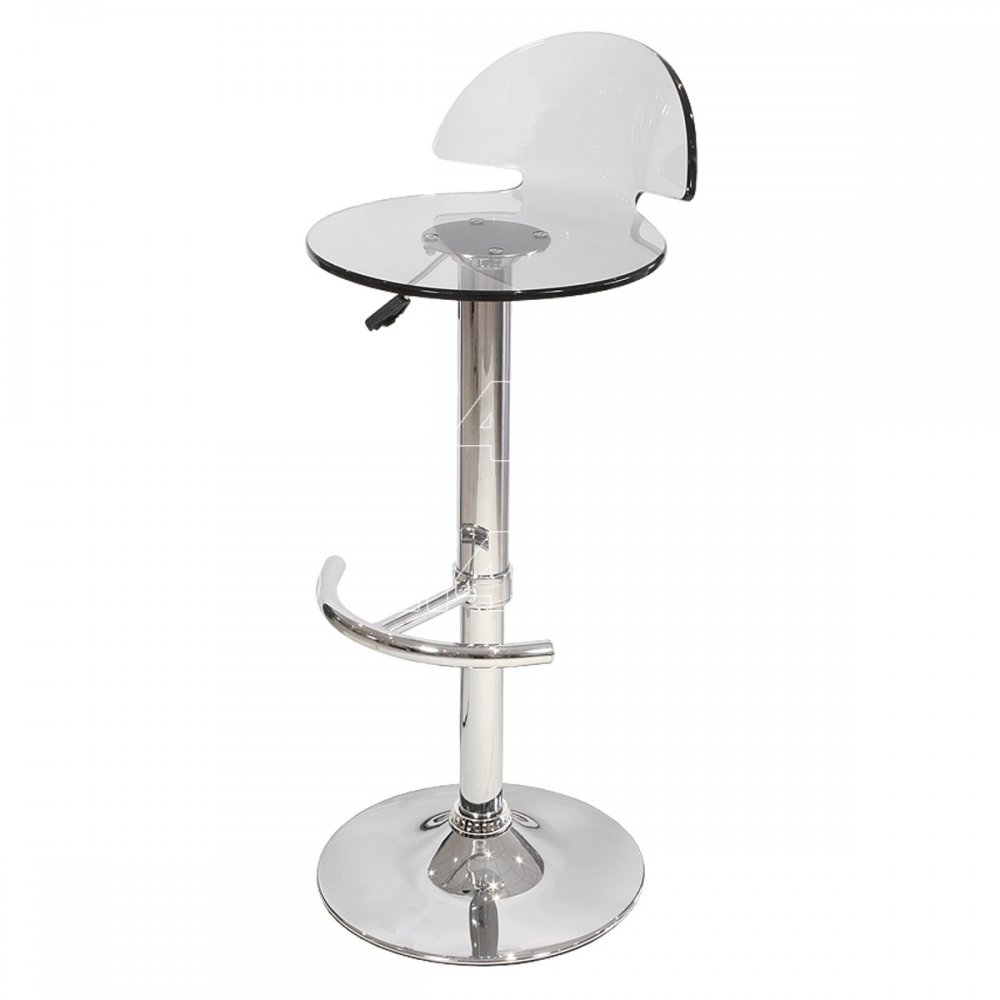 kitchen chairs  8 cool lucite bar stools  estateregional