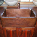 Kitchen Farmhouse Sinks , 7 Awesome Copper Farmhouse Sink In Kitchen Appliances Category