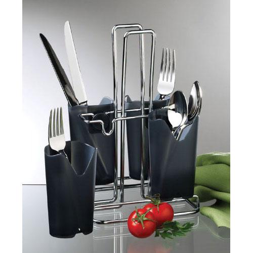 Kitchen , 8 Best Silverware Caddy : Kitchen Utensil Holders