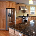 Kitchen cabinets , 7 Awesome Rustic Hickory Cabinets In Kitchen Category