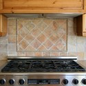 Kitchens , 7 Cool Backsplash Medallions In Kitchen Category