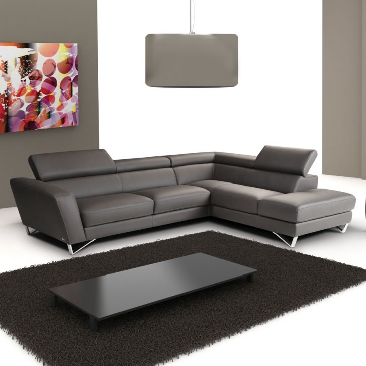 Furniture , 8 Nice Italian Leather Sectional : Leather Sectional Sofa