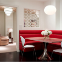 Leather corner dining banquette seating furniture , 7 Gorgeous Corner Banquette Seating In Interior Design Category