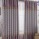 Lined Polyester Geometrical Printing Curtains , 8 Charming Lined Curtain Panels In Others Category