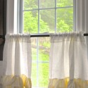 Linen Cafe Curtains , 8 Superb Linen Cafe Curtains In Others Category
