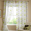 Lombok Floral Voile Curtains , 7 Cool Voile Curtains In Others Category