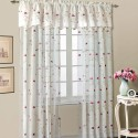 Loretta Embroidered Floral Sheer Curtain , 7 Best Embroidered Sheer Curtains In Others Category