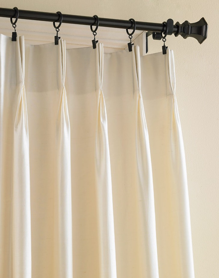 7 amazing dupioni silk curtains