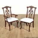 Mahogany Chippendale Dining Chairs , 9 Lovely Chippendale Chairs In Furniture Category