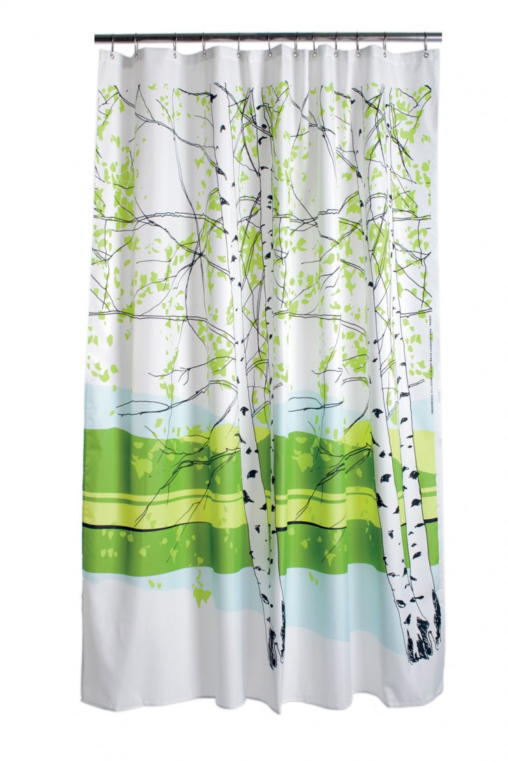 Others , 8 Best Marimekko Shower Curtain : Marimekko Kaiku Shower Curtain