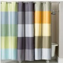 Martha Stewart Encore Stripe Shower Curtain Blue , 8 Stunning Striped Shower Curtain In Others Category