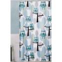 Maytex Owl Blue Fabric Shower Curtain , 7 Popular Owl Shower Curtain In Interior Design Category