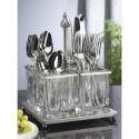 Metal Flatware Caddy , 8 Best Silverware Caddy In Kitchen Category