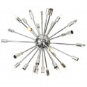 Mid Century Chrome Sputnik Chandelier , 8 Best Sputnik Chandelier In Others Category