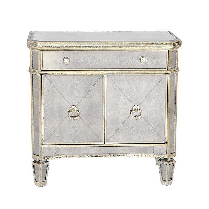Furniture , 8 Best Mirrored nightstand : Mirrored Nightstand