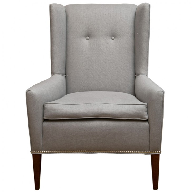 Furniture , 7 Unique Wingback Chair : Modern Wing Chair