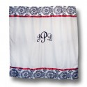 Monogrammed Damask Shower Curtain , 8 Ideal Monogram Shower Curtain In Others Category