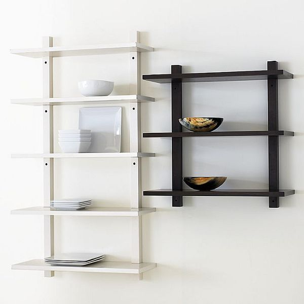 Furniture , 8 Popular Wall Mounted Bookshelves : Mounted Bookcase