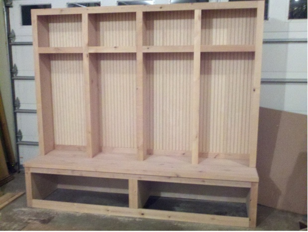 620x466px 7 Good Mudroom Lockers With Bench Picture in Furniture