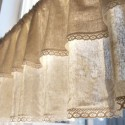 Natural Linen Cotton Cafe Curtain , 8 Superb Linen Cafe Curtains In Others Category