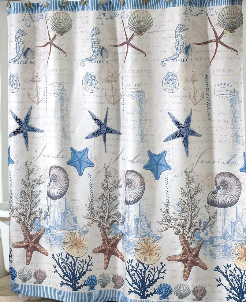 804x988px 8 Best Coastal Shower Curtains Picture in Others