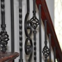 Nautilus scroll Iron , 7 Fabulous Iron Balusters In Interior Design Category