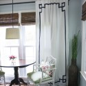 No-sew Greek Key Curtains , 7 Best Greek Key Curtains In Others Category