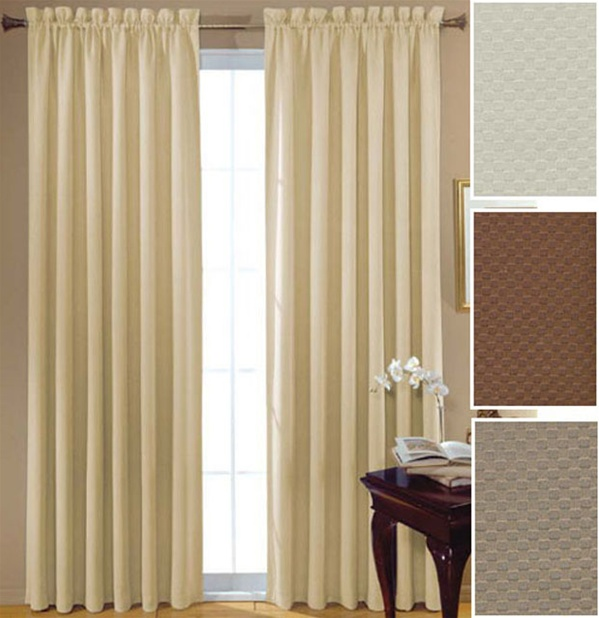 Others , 8 Nice Noise Blocking Curtains : Noise Barrier Quilted Curtains