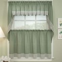 Ombre Scarf Valances , 8 Fabulous Kitchen Curtain Valances In Others Category