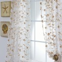 Organza Sheer Curtains , 7 Best Embroidered Sheer Curtains In Others Category