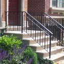Ornamental Wrought Iron Railing , 7 Superb Rod Iron Railing In Others Category