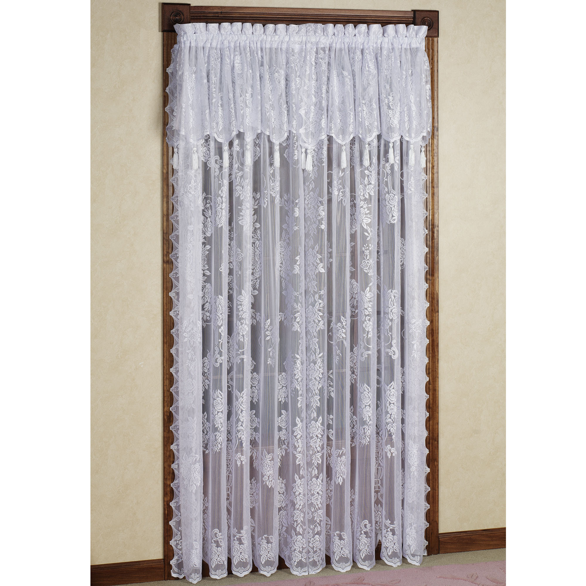 Superieur Others , 7 Top Lace Curtain Panels : Panel With Valance