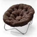 Papasan Chair in Cocoa Microfiber , 7 Good Papasan Chair In Furniture Category