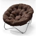 Papasan Chair in Cocoa Microfiber , 7 Good Papasan Chair In Furniture Category
