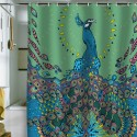 Peacock Shower Curtain , 8 Fabulous Peacock Shower Curtain In Others Category