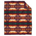 Pendleton Maroon Chief Joseph Blanket , 7 Good Pendleton Blankets In Bedroom Category