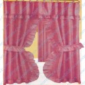 Pink Fabric Double Swag Ruffled , 7 Cool Pink Ruffle Shower Curtain In Others Category