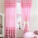 Pink Ruffle Curtains , 7 Cool Pink Ruffle Shower Curtain In Others Category