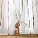 Pom Pom Trim Curtains , 8 Charing Pom Pom Curtains In Others Category