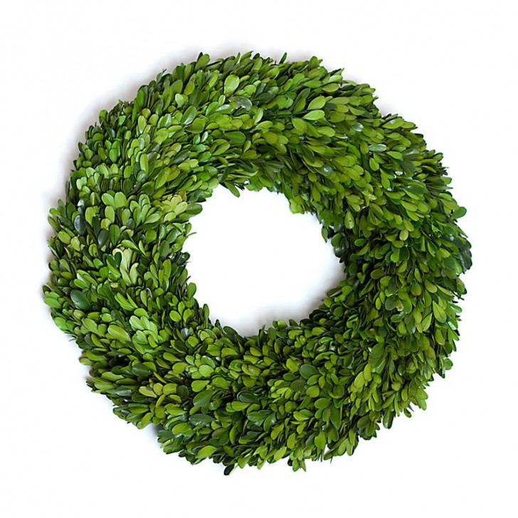 Others , 7 Nice Boxwood Wreath : Preserved Boxwood Round Wreath