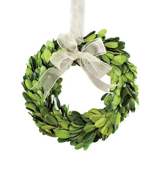 Others , 7 Nice Boxwood Wreath : Preserved Boxwood Wreath