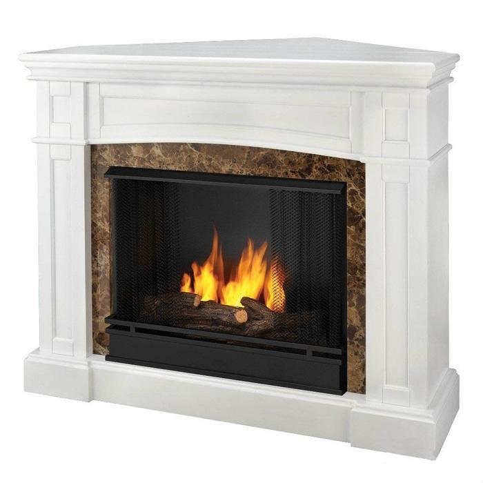 Others , 7 Fabulous Ventless Fireplace : Real Flame Bentley Ventless Gel Fireplace